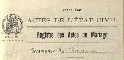 archives état civil