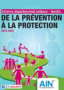 couverture du schéma départemental enfance-famille 2015-2020
