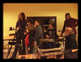 Le filmoteur en action