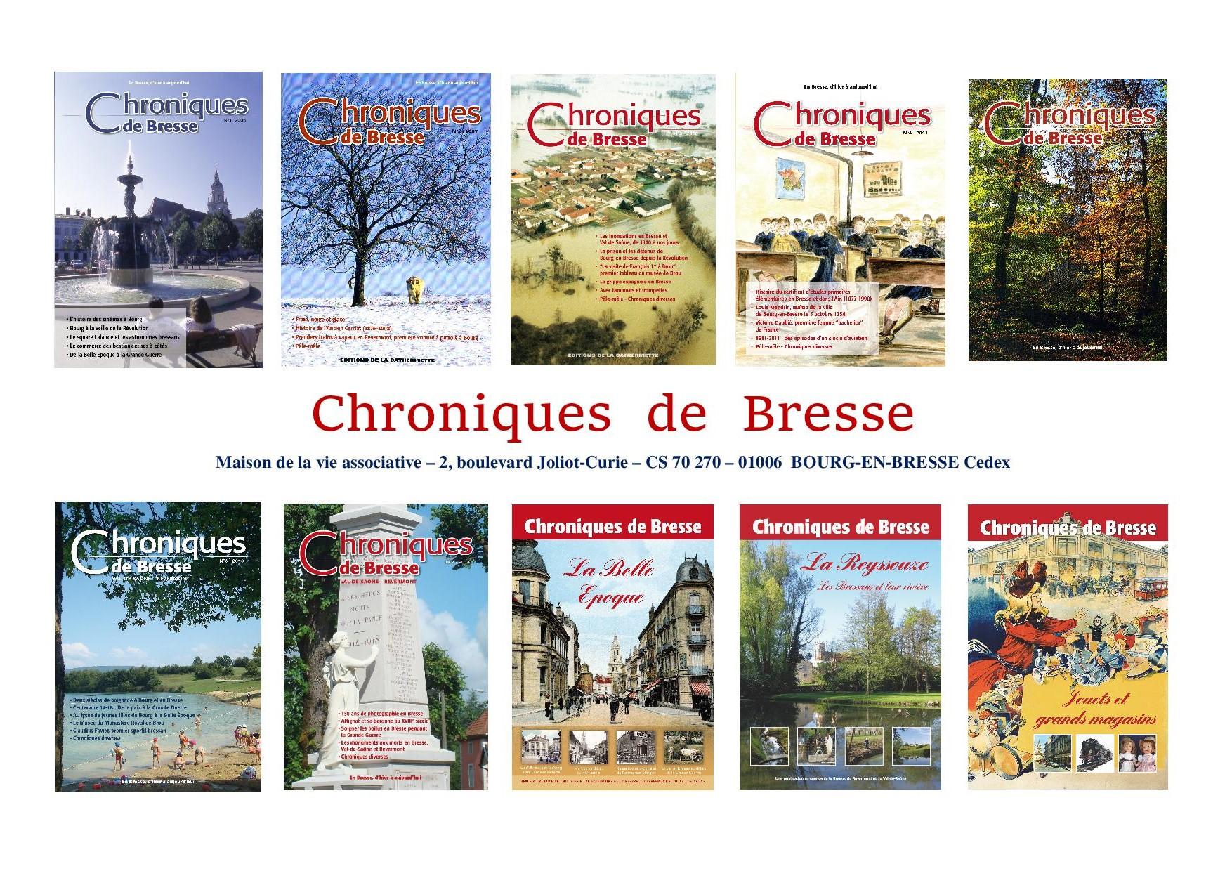 Les chroniques de Bresse