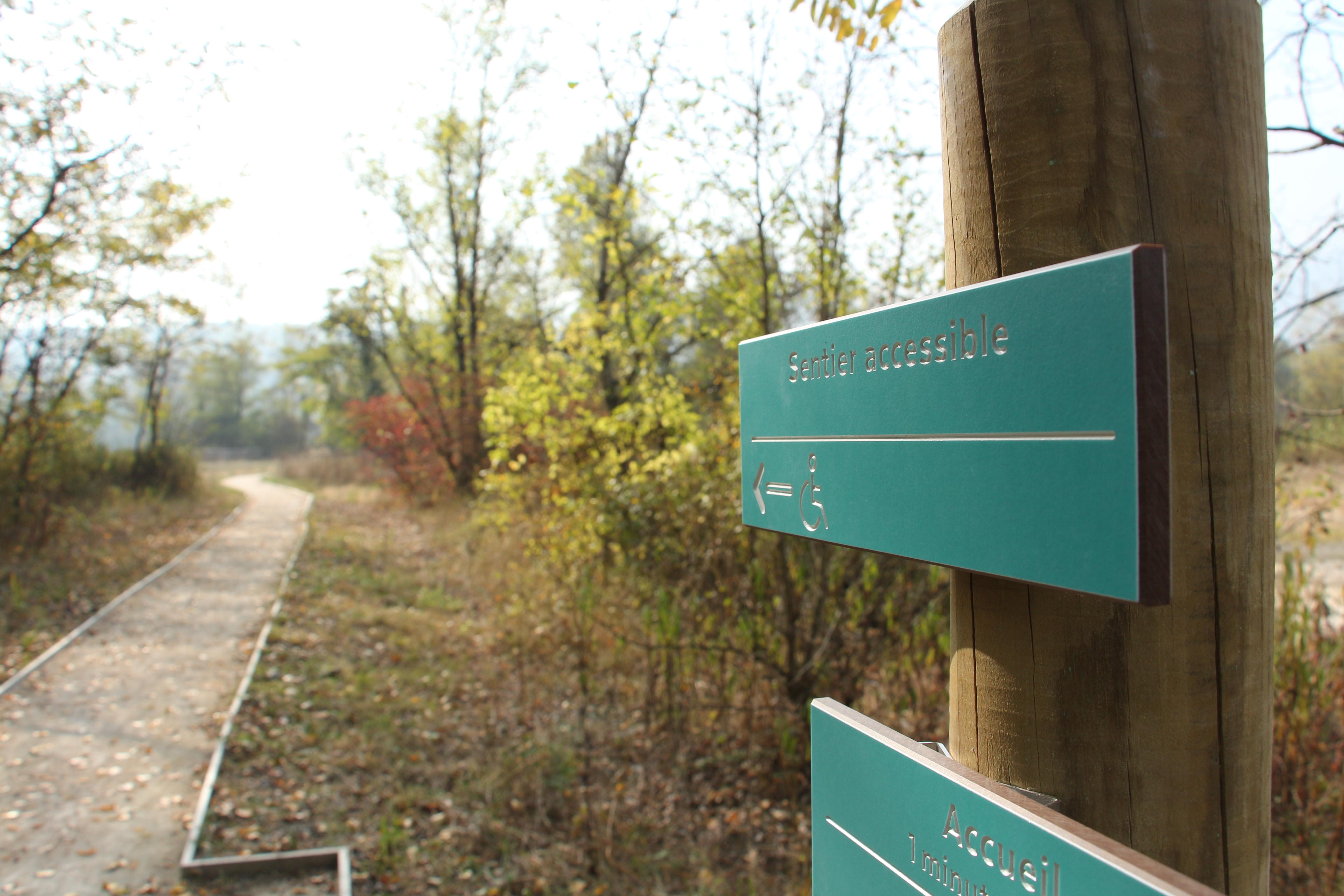 Sentier accessible tous handicaps, marais de l'Etournel @ Marjorie Leorier