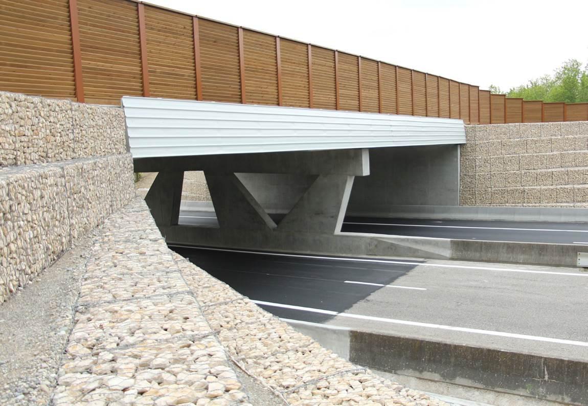Ecopont de Péron, corridor biologique d'intérêt départemental, régional et international, pour le déplacement sécurisé de la faune