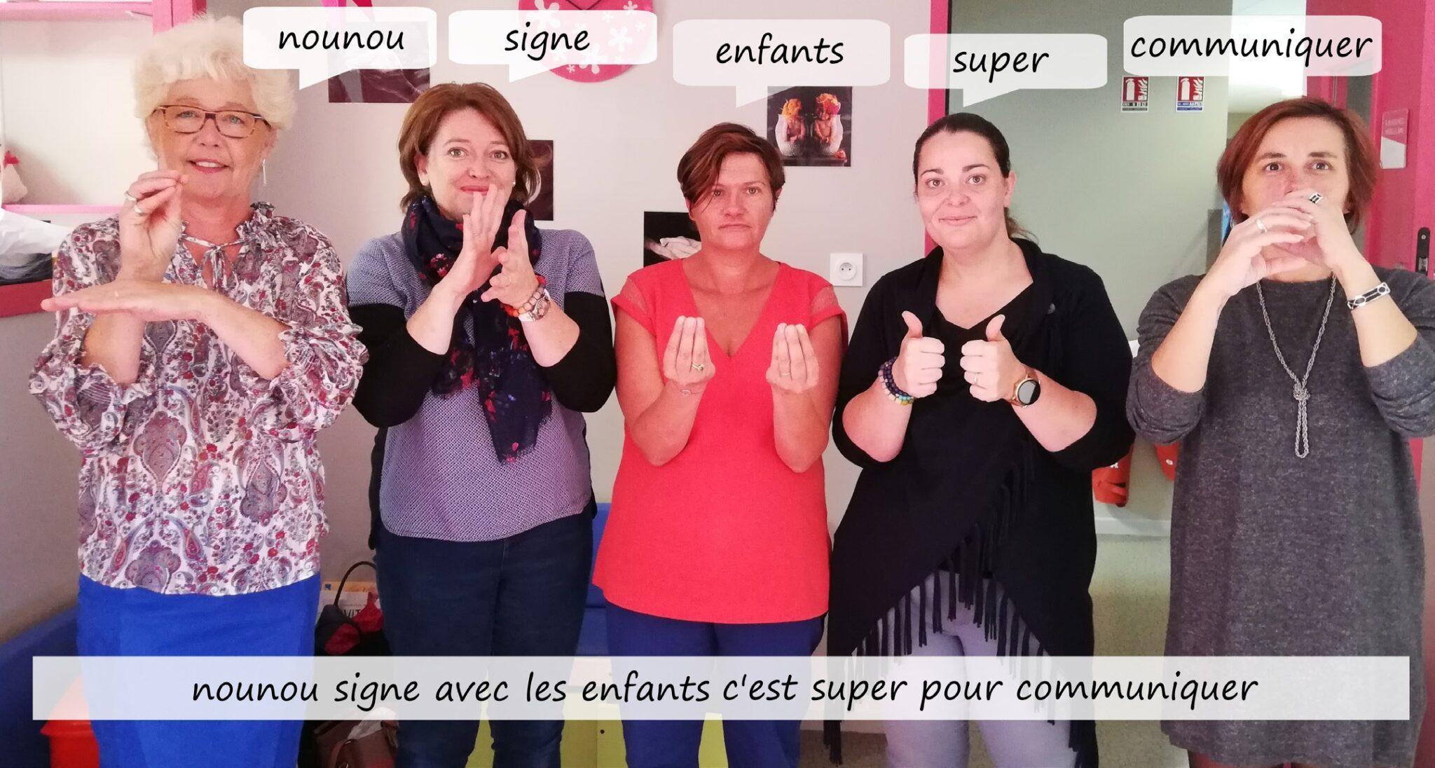 langage des signes - exemples