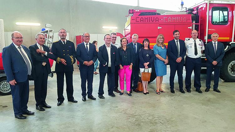 Inauguration de la caserne Gex Divonne Le 11 Juillet 2019