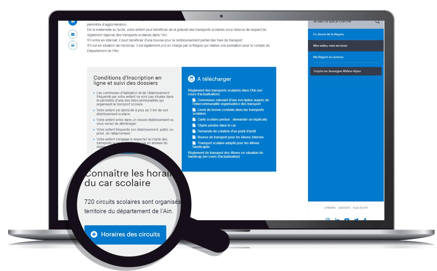 renouvellement carte de bus scolaire inscriptions, lignes et horaires | Transports scolaires | Ain.fr