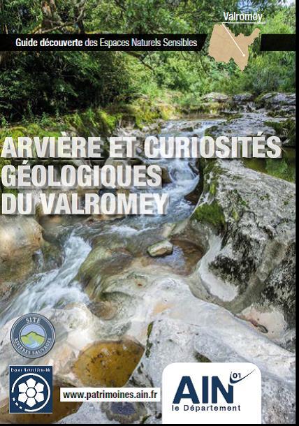 Couverture du Guide Découverte Des Espaces Naturels Sensibles de l'Arvière et des curiosités du Valromey