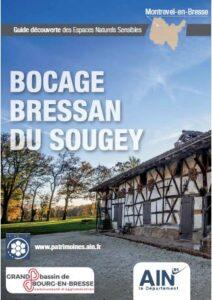 Couverture du Guide Découverte des ENS du bocage Bressan et de la ferme du Sougey à Montrevel-en-Bresse