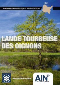 Couverture du Guide Découverte des Espaces Naturels Sensibles (ENS) Lande Tourbeuse des Oignons à Boz