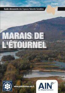 Couverture du Guide Découverte des Espaces Naturels Sensibles (ENS) du marais de l'Étournel à Pougny