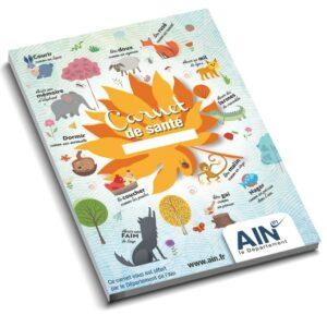 Couverture du carnet de santé habitant de l'Ain