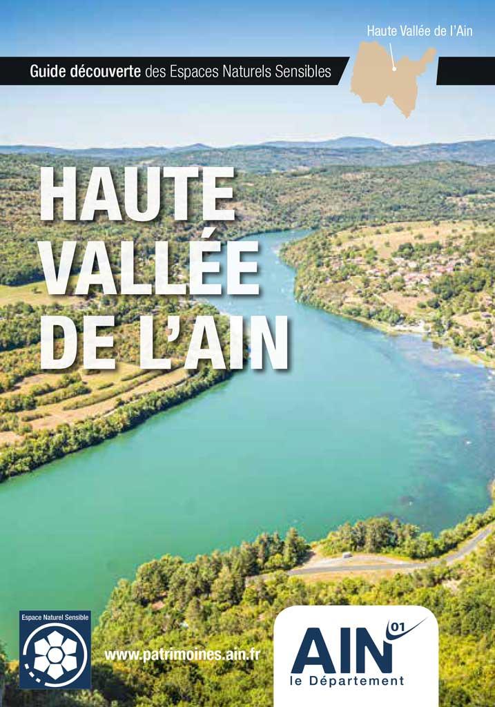 Couverture du Guide Découverte des Espaces Naturels Sensibles (ENS) Haute vallée de l'Ain