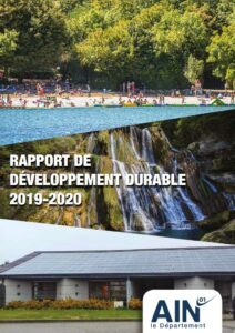 couverture du Rapport de développement durable 2019-2020