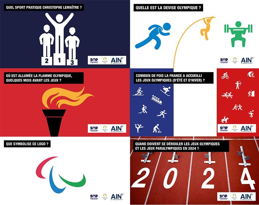 Jeux Olympisme et Paralympisme