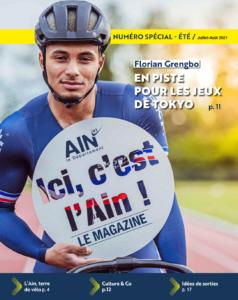magazine « Ici, c'est l'Ain, spécial été 2021